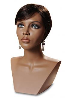 realistic female mannequin heads