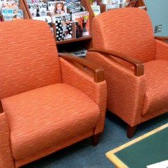 Chair Covers Vaughan Race Car Office Nz Library Renovations Building Projects