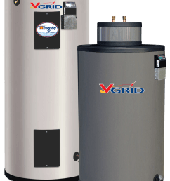 minimal stanby heat loss proven components and the industry s longest lasting tank make the v grid grid enabled electric water heater the best choice for  [ 1259 x 1720 Pixel ]
