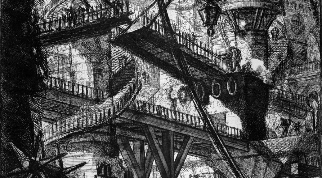 The Gothic Staircase From Piranesi to Harry Potter