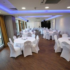 Chair Cover Hire Ellesmere Port How To Upholster A Cushion Function Room Wirral Vauxhall Motors Sports Club Tables And Chairs Setup Ready For Wedding