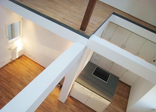 Dachwohnungen  Sanierung Renovierung von Wohnungen