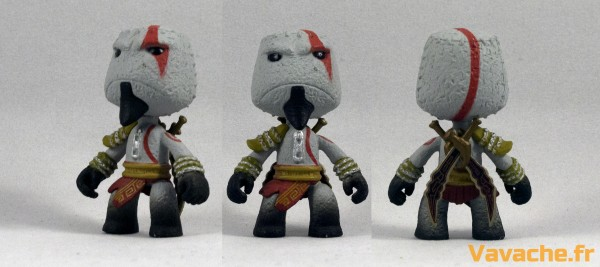 Figurine Sackboy Kratos