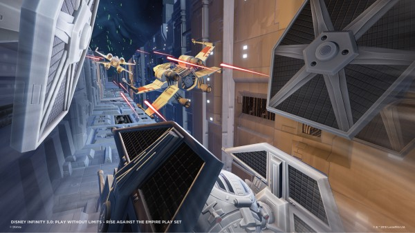Disney infinity 3.0 Star Wars Rise against the Empire