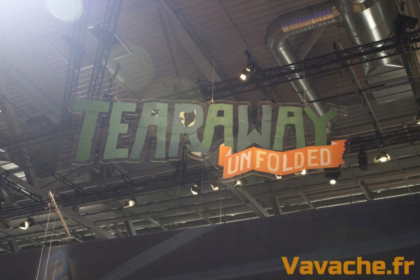 Gamescom 2015 Tearaway Unfolded