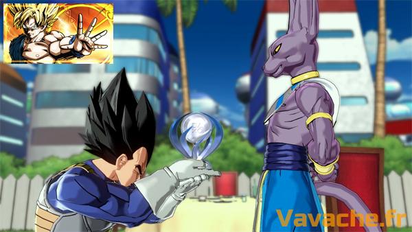 Platine Dragon Ball Xenoverse