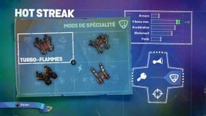 Hot Streak Mods Spécialité 1