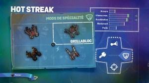 Hot Streak Mods Spécialité 2