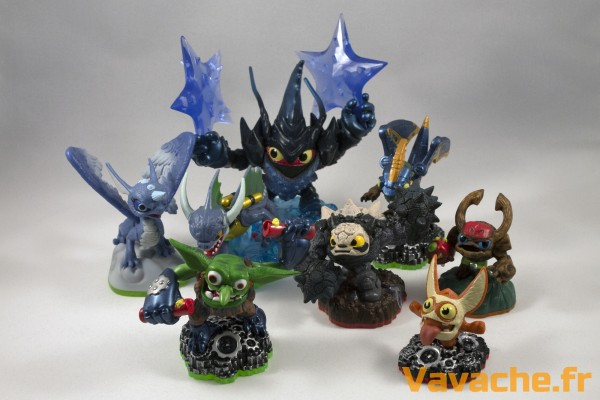 Lot de figurines Skylanders