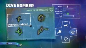 Dive Bomber Mods Spécialité 1