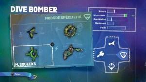 Dive Bomber Mods Spécialité 3