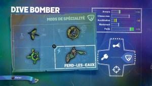 Dive Bomber Mods Spécialité 4