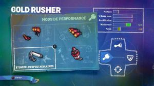 Skylander SuperChargers Gold Rusher Mod