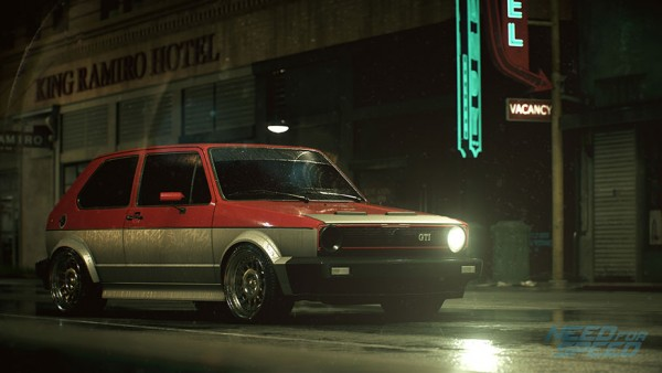 Need For Speed Volkswagen Golf GTI