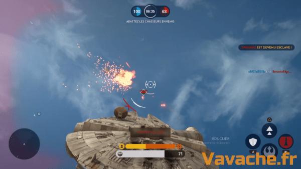 Star Wars Battlefront Mais attrape pas la grosse tête