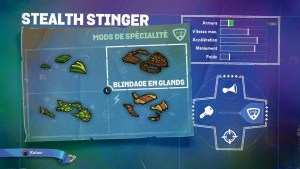 Skylanders SuperChargers Stealth Stinger Spécialité
