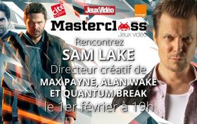 Master Class Sam Lake