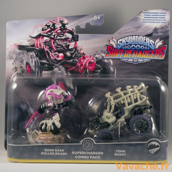 Skylanders SuperChargers Double Pack Bone Bash Roller Brawl et Tomb Buggy