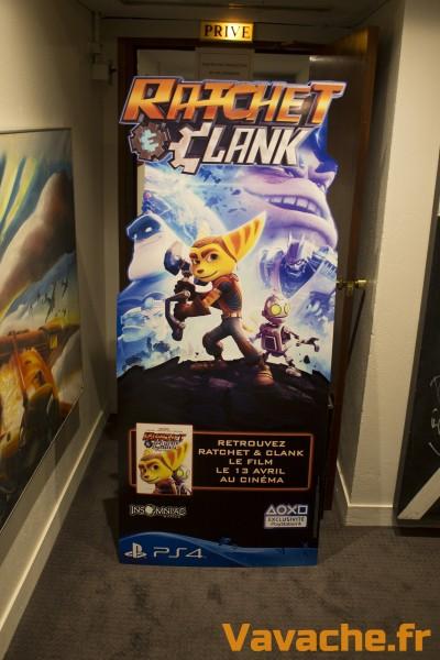 Evènement Ratchet & Clank