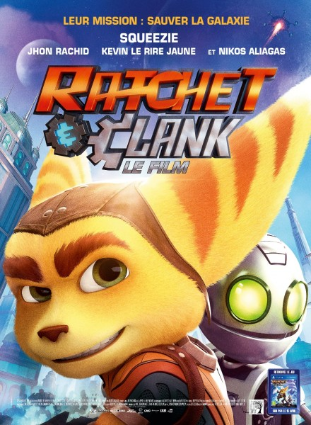 Affiche Film Ratchet & Clank