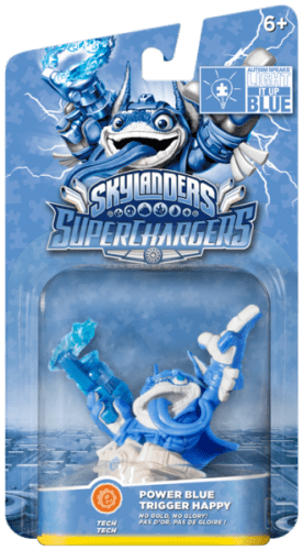 Skylanders SuperChargers Trigger Happy Power Blue