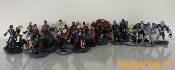 Disney Infinity collection Marvel complète