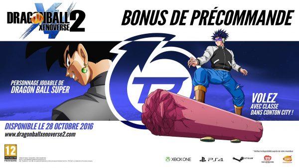 Dragon Ball Xenoverse 2 Bonus préco
