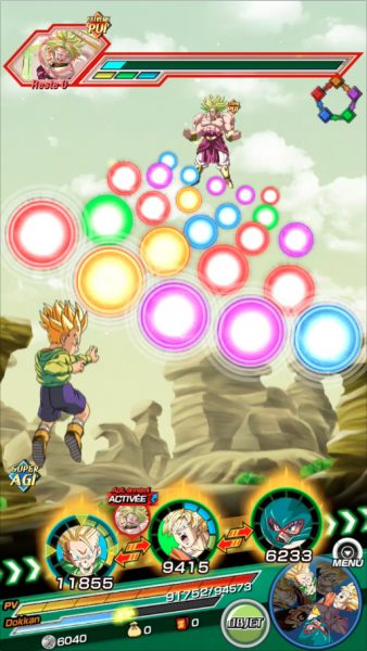 Dragon Ball Z Dokkan Battle Actif Broly
