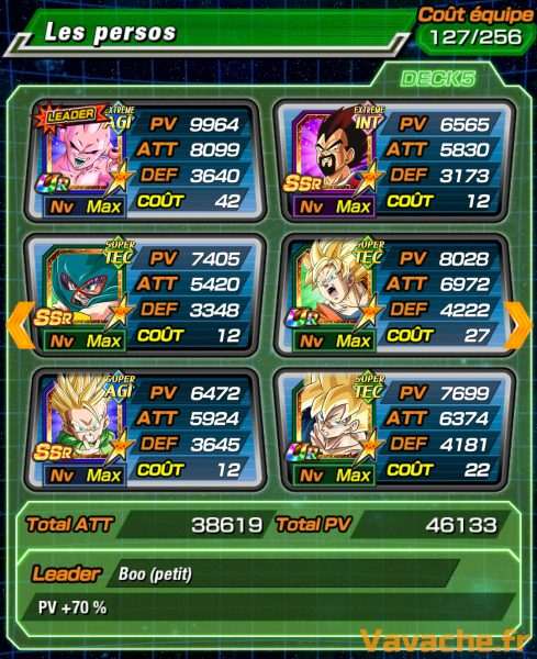 Dragon Ball Z Dokkan Battle Team Broly
