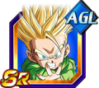 Dokkan Battle SR Trunk kid ssj