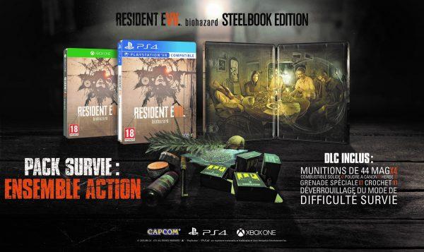 Resident Evil 7 édition Steelbook