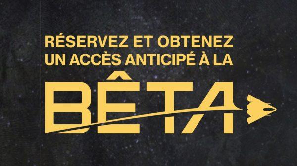 Destiny 2 accès Beta