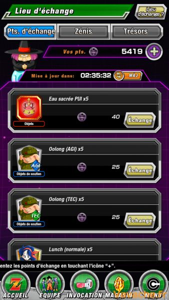 Guide Dokkan Battle Magasin