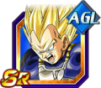 Dokkan Battle SR Vegeta SSJ AGI