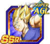 Dokkan Battle SSR Vegeta ange AGI