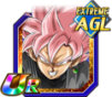 Dokkan Battle UR Goku Black Rosé AGI