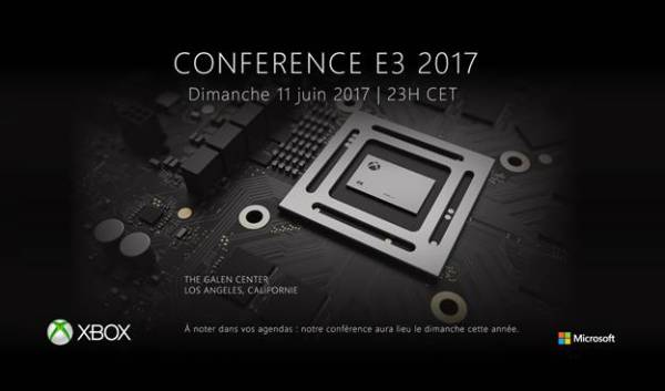 Conférence Microsoft E3 2017