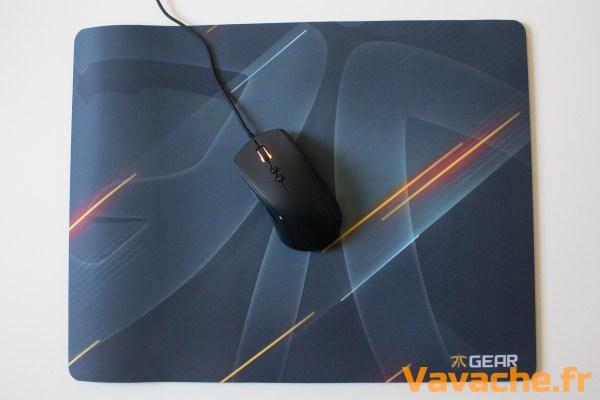 Souris Optique Clutch G1 Tapis de souris Focus Neon XXL