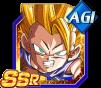 Dokkan Battle SSR Goku SSJ3 GT AGI