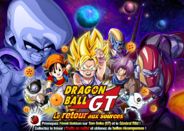 Dokkan Battle DBGT retour sources