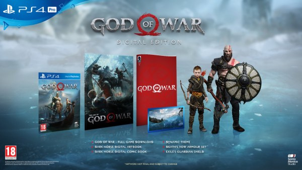 God Of War Digital Edition