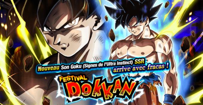 Bannière Dokkan Battle Son Goku Ultra Instinct
