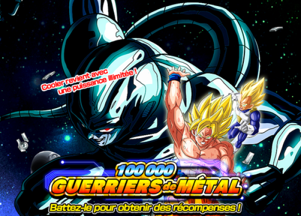 Dokkan Battle 100000 Guerriers de métal
