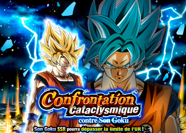 Dokkan Battle Confrontation Cataclysmique contre Son Goku