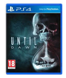 Jaquette Until Dawn PlayStation 4