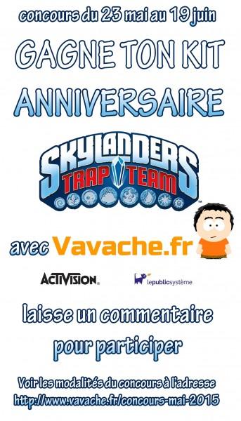 Concours Skylanders mai 2015