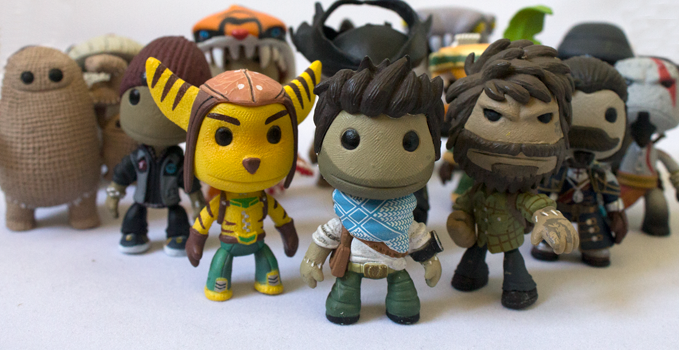 Collection figurines Sackboy