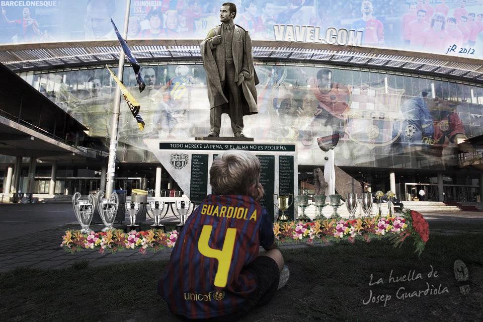 #EstatuaGuardiola. Guardiola clausura una época en la evolución del fútbol ofensivo y de asociación