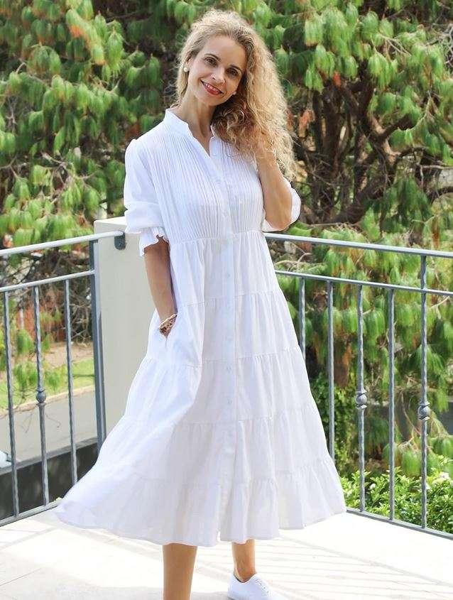 Zjoosh Linen Maria Dress