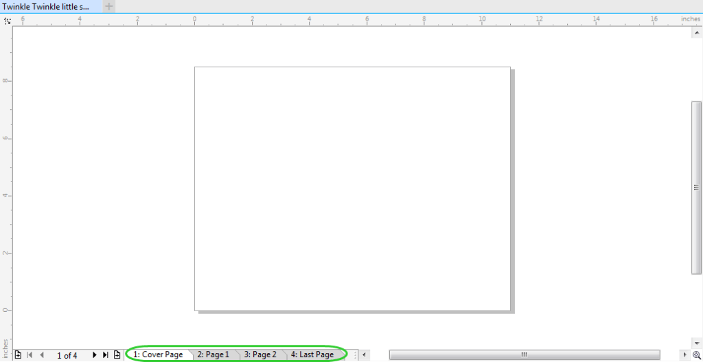 Creating Multiple Documents in Corel Draw